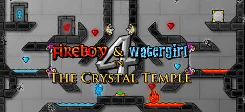 FireBoy and WaterGirl 4: In the Crystal Temple