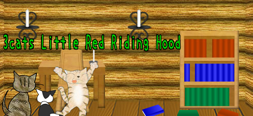 3 Cats Little Red Riding Hood