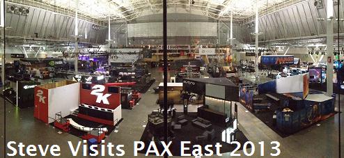 Steve Visits PAX East 2013