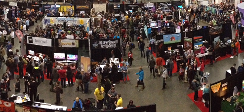 PAX East 2013 Indie Megabooth
