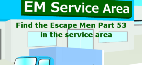 Find the Escape-Men 53 in the Service Area