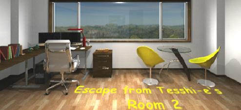 Escape from Tesshi-e's Room 2
