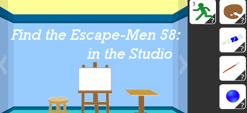 Find the Escape-Men 58: in the Studio