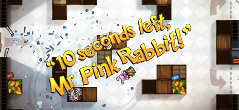 10 Seconds Left, Mr. Pink Rabbit!