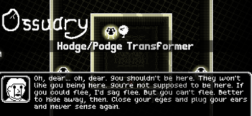 Ossuary: The Hodge/Podge Transformer