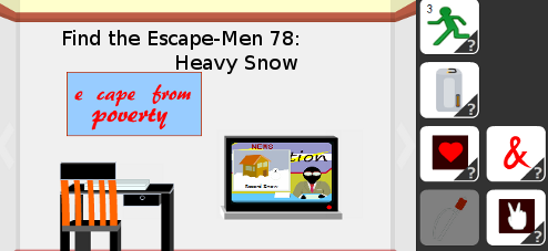 Find the Escape-Men 78: Heavy Snow