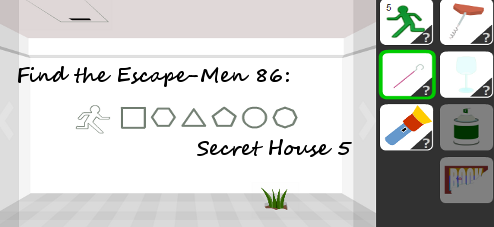 Find the Escape-Men 86: Secret House 5