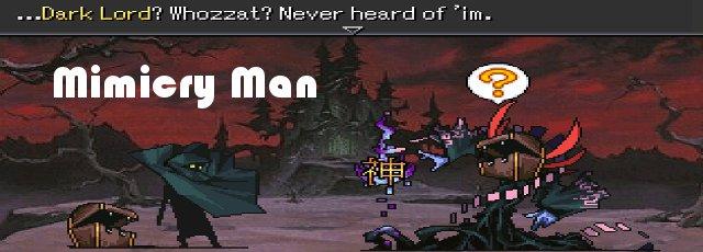 Mimicry Man