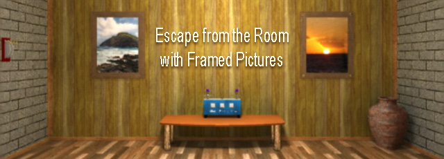 Escape from the Room with Framed Pictures