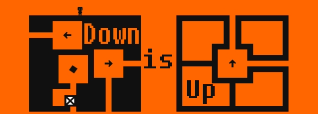 down-is-up