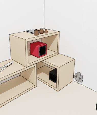 Geometric Room Escape