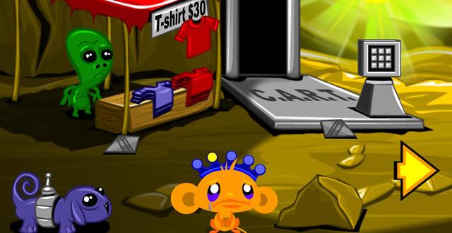 Monkey GO Happy - Planet Escape