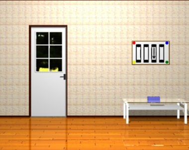 Room with Designed Windows 3