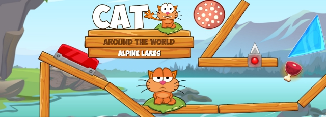Cat Around the World - Alpine Lakes
