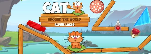 Cat Around the World - Alpine Lakes