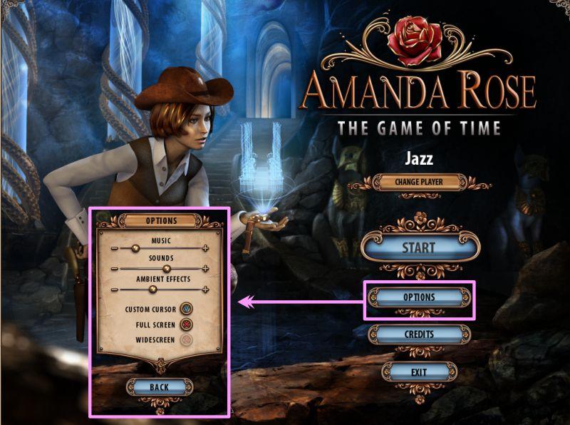 amanda rose the game of time