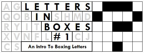 Letters in Boxes #1