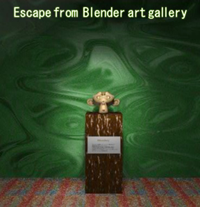 Escape from Blender Art Gallery