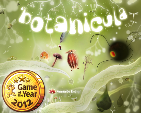 Botanicula is Game of the Year!