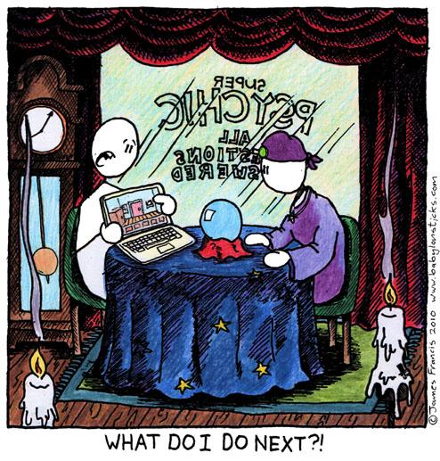 Babylon Sticks: Ask An Expert comic
