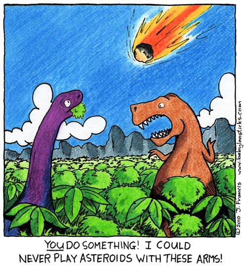 Babylon Sticks: Asteroids comic