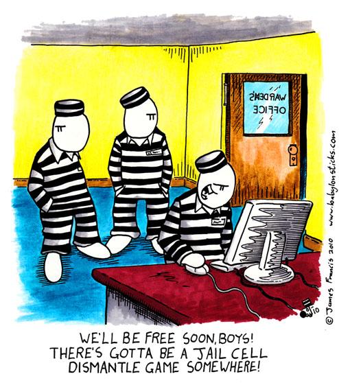 Babylon Sticks: There's Gonna Be A Jailbreak comic