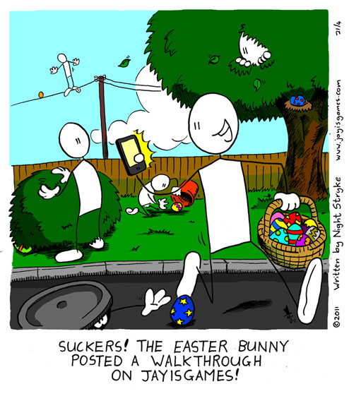 Babylon Sticks: Easter Spoiler comic