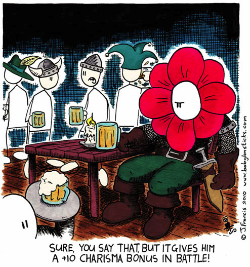 Babylon Sticks: Flower Power comic