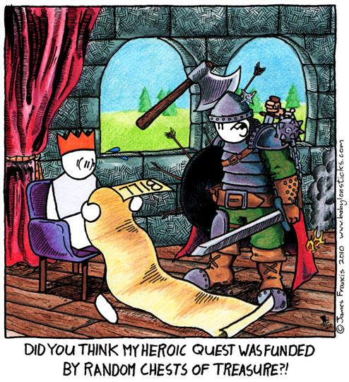 Babylon Sticks: Heroic Quest comic