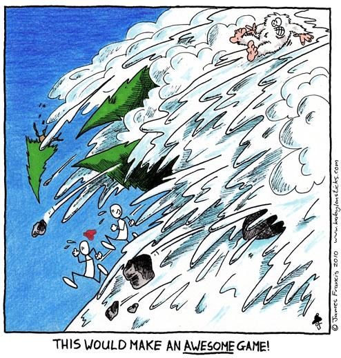 Babylon Sticks: Inspiration comic