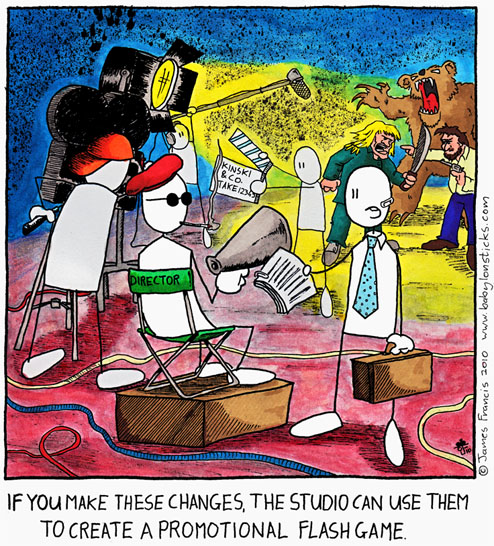 Babylon Sticks: For Marketing's Sake comic