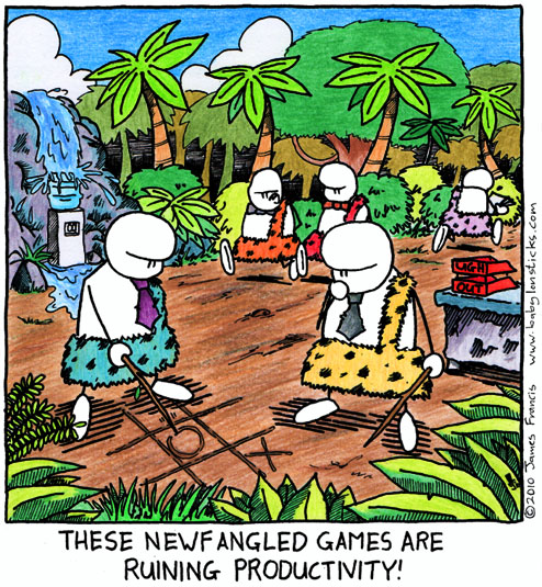 Babylon Sticks: Neanderville comic