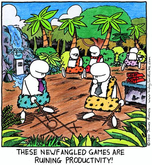 Babylon Sticks: Neanderville comic