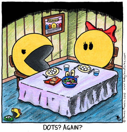 Babylon Sticks: Pacman Lunch comic