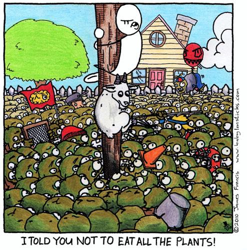 Babylon Sticks: Dirty Herbivores comic
