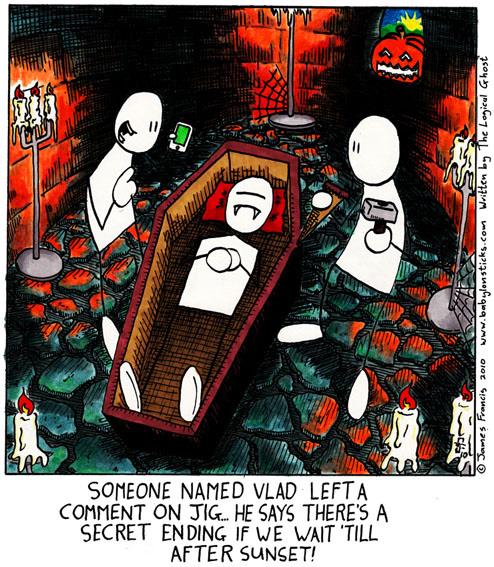 Babylon Sticks: Tips from the Grave comic