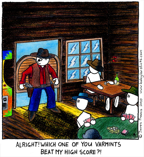 Babylon Sticks: Varmints comic