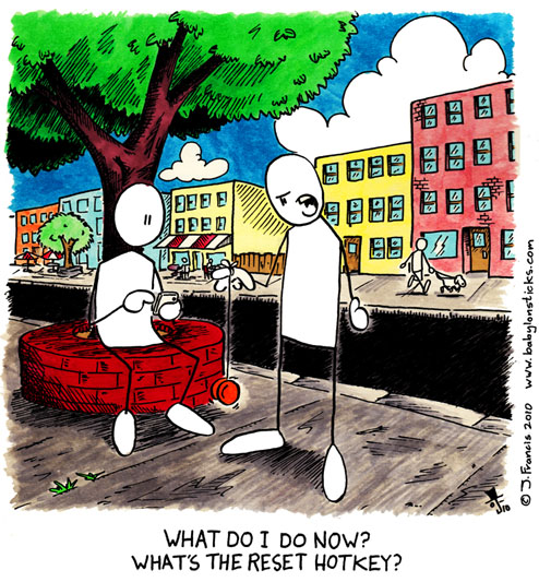 Babylon Sticks: Must Be A Beta comic