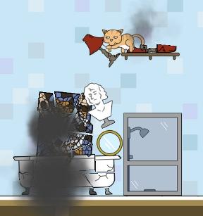 Clumsy Cat