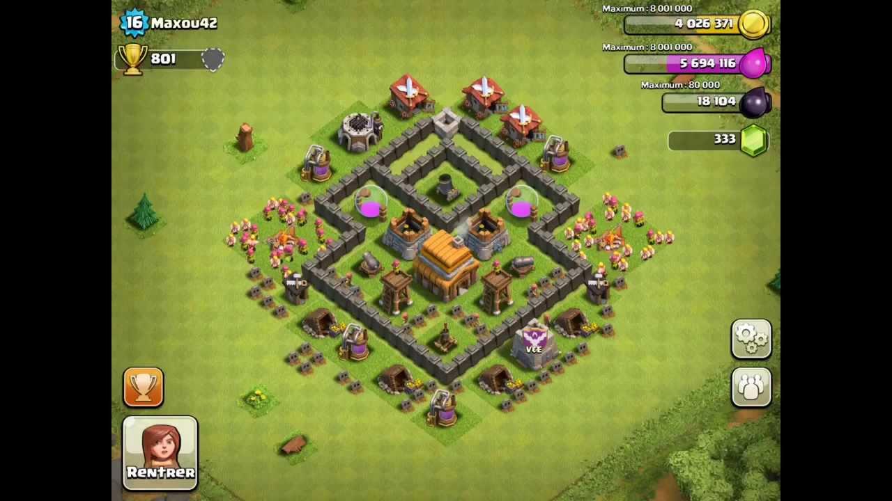 Level 20 Coc Base