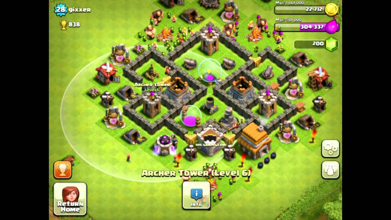 clash of clans base designs per town hall walkthrough guides