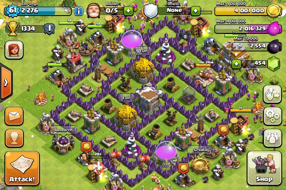 Clash of Clans: Base Designs (per Town Hall) - Walkthrough