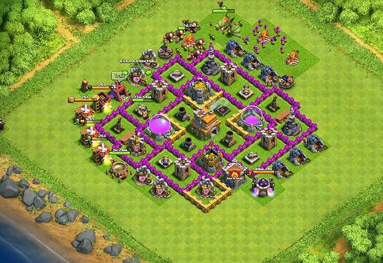 Base Coc Th 5 Untuk War Paling Kuat 2