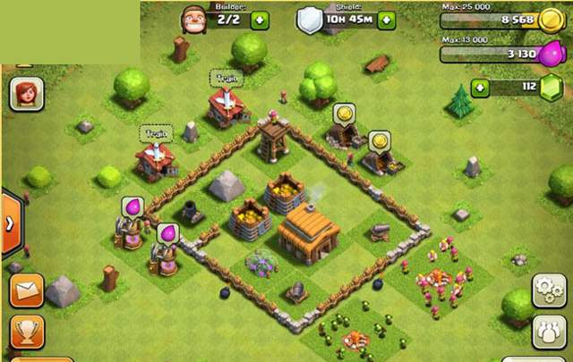 Clash of Clans first time