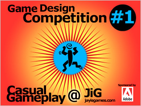 Casual Gameplay game design competition gui