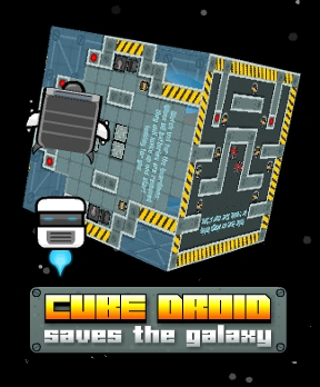 Cube Droid Saves The Galaxy