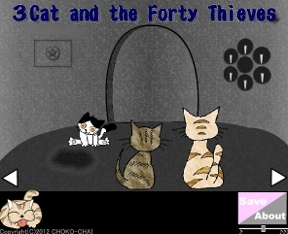 Three Cats and Forty Thieves