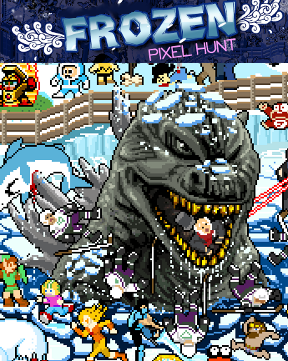 Frozen Pixel Hunt