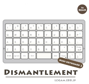 Dismantlement: Mini Keyboard 2