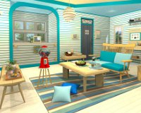 Candy Rooms 12: Turquoise Blue Natural